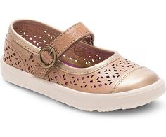 Stride Rite: Poppy Mary Jane Infant/Toddler/Little Kid (Tan)