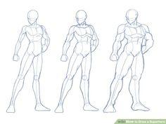 Image titled Draw a Superhero Step 2