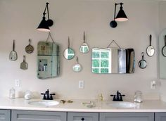 esdesign: Vintage Mirrors