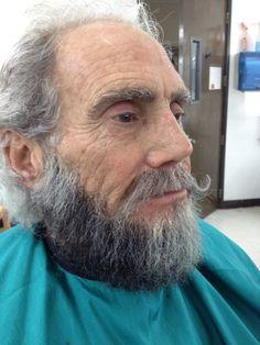 handlaid false beard