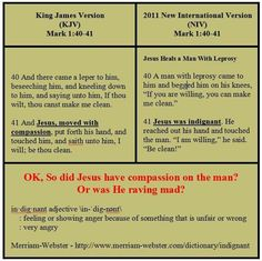 Mark 1:40-41 Bible Verses Kjv, Sola Scriptura, Bible Translations, Jesus Heals, New Bible, Religion And Politics, Bible Study Journal, King James Bible, Bible Truth