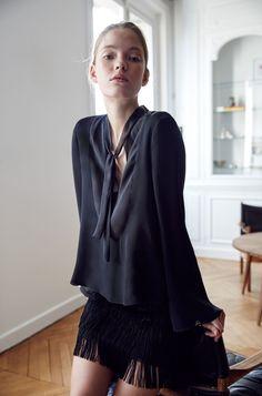 Evening-WOMAN-LOOKBOOK   ZARA United States - Fringed Skirt