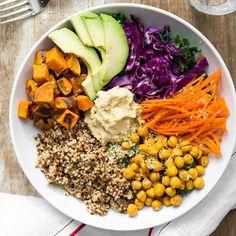 Rinde 1 bowl / Preparación: 20 min / Cocción: 30 minutos