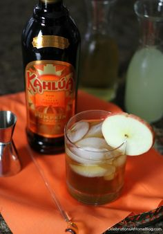 Apple-Pumpkin Spice Cocktail — Celebrations at Home