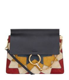 View the Medium Faye Rosace Patchwork Shoulder Bag
