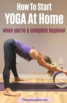 Sometimes the process of starting a yoga routine is overwhelming- so let's break that down! Learn how to start a yoga practice at home and why you should #yoga #yogaforbeginners #yogainspiration #yogaworkout #yogastretches Yoga Fitness, Fitness Tips, Health Fitness, Home Yoga Practice, 30 Minute Workout, Yoga At Home, How To Start Yoga, Flexibility Workout, Fit Board Workouts