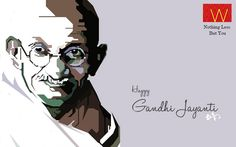 A salute to the man who led us to the #Freedom.  Happy #GandhiJayanti