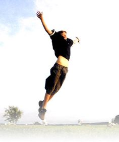 I believe I can fly....