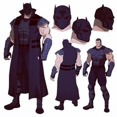 Bane as Batman! Character Model Sheet, Character Modeling, Comic Character, Character Concept, Im Batman, Batman Art, Comic Books Art, Comic Art, Batman Redesign