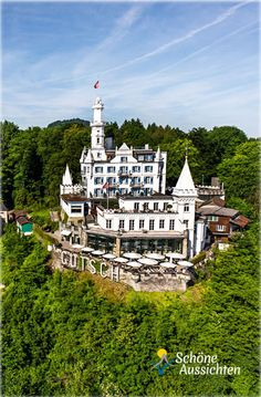 Hotel Château Gütsch In Luzern   Schweiz