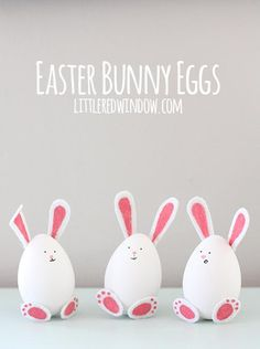 DIY Easter Bunny Eggs