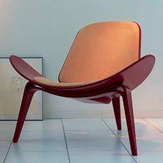 Wegner CH07 Shell Chair - Color Beech Frame