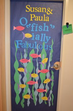 Teacher Appreciation: Door decorations