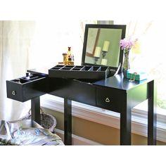 Baxton Studio Marie Vanity Table/Dressing Table