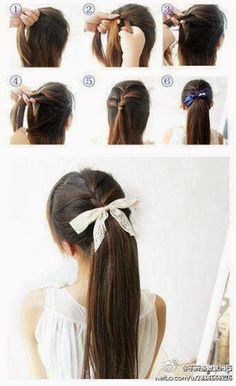 How to do a french braid ponytail   Amp up your ponytail style