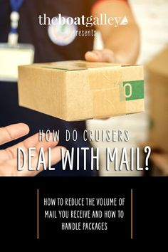 How do you manage mail when you live on a boat and cruise full time? Here's how we manage it. Living On A Boat, Cruise Boat, Boat Projects, Diy Boat, I Need To Know, Boats, Learning, Live, Ships