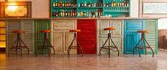 Resultado de imagen de barra bar decorada
