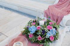 στολισμός γάμου μέ παιώνιες,γάμος μέ παιώνιες,νυφική ανθοδέσμη μέ παιώνιες Wedding Decorations, Table Decorations, Glass Vase, Floral Wreath, Wreaths, Home Decor, Floral Crown, Decoration Home, Door Wreaths