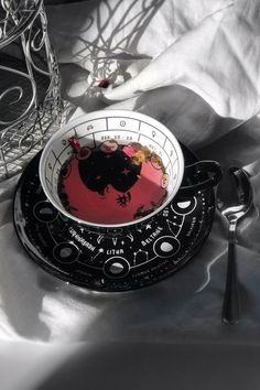 Cosmic Tea Cup & Saucer, You are able to appreciate breakfast or different time periods applying tea cups. Tea cups also have decorative features. Once you go through the tea cup models, you will dsicover this clearly. Coffee Cups, Tea Cups, Cup Of Tea, Witch Aesthetic, Farrow Ball, Ceramic Cups, Magick, Witchcraft, Book Of Shadows