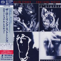 The Rolling Stones - Emotional Rescue - Japan Jewel Case SACD-SHM - UIGY-9586 - CD