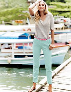 I've spotted this @BodenClothing Ankle Skimmer Chinos. Love love love