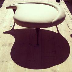 'Liv' (Life) by master of upholstery and artist Susanne Sjögren. Fotevik Station, Sweden.