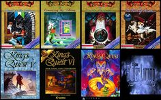 King's Quest Series. My favorite point and click adventure of all time. So classic <3