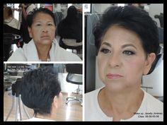 Con correcciones en el maquillaje, lo que pretendemos es que  el rostro quede visualmente armónico Y proporcionado.  #vellesasalon #judithluna #janelly #luzma #makeup #peinados #maquillajes