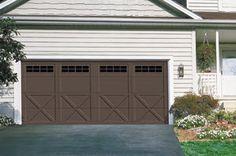 Courtyard Garage Door | Model 167b | Courtyard Collection® | Learn more at overheaddoor.com