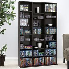 possible solution for DVD storage - the shelves are DVD width (from the Ikea Besta line) | Home Theater / Music Room / Game Room Inspirations | Pinterest ... : besta dvd storage  - Aquiesqueretaro.Com