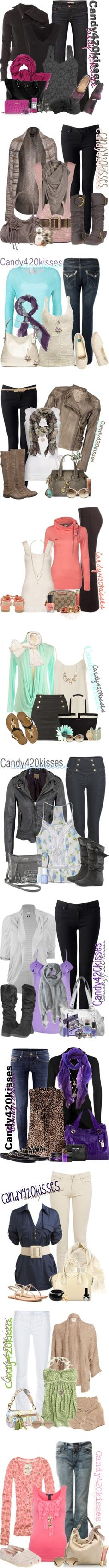 """""""recents"""" by candy420kisses on Polyvore"""