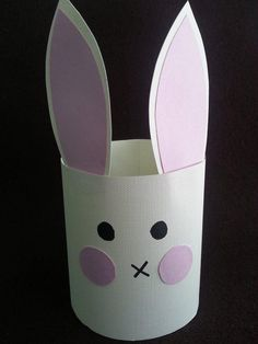 DIY Easter: DIY Paper Bunnies for Kids to Make