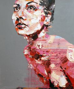 Oil painting by Thomas Donaldson
