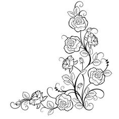 Risultati immagini per bauernmalerei folk decorative art Colouring Pages, Coloring Books, Embroidery Patterns, Hand Embroidery, Drawing Borders, Flower Png Images, Wood Burning Patterns, Parchment Craft, Border Design