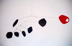 How to: Make a DIY Calder-Inspired Mid-Century Modern Mobile (for under $10.00) » Curbly | DIY Design Community