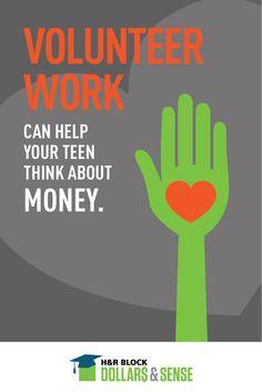 #Volunteer work may have financial advantages for teens #SmartFinance