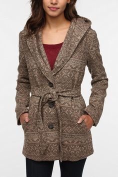 Jack By BB Dakota Freya Blanket Coat