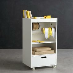 Crate & Barrel  Wrapping Cart