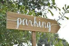 Custom Wedding Sign, Wooden Wedding Sign, Wedding Sign, Reception sign, Arrow Sign, Wedding Name Signs, Beach Wedding by countryblissdesigns on Etsy https://www.etsy.com/listing/198822703/custom-wedding-sign-wooden-wedding-sign