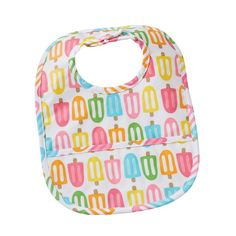 Mud Pie, Mudpie, Popsicle Laminated Bib #mudpiegift