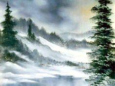Gray Winter ~ Bob Ross