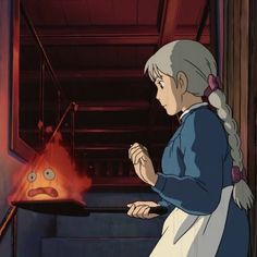 Mini Canvas Art, Howls Moving Castle, Studio Ghibli, Anime, Fandoms, Castles, Cartoon Movies, Anime Music, Animation