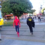 SUPERMAN AND SPIDERMAN GET LOST IN SZCZECIN