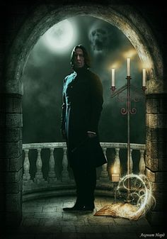 This is the fictional character Professor Snape and I sometimes wish he was a 'real boy'.