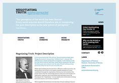 negotiating truth Noam Chomsky, Perception, The Fosters, Web Design, Design Web, Website Designs, Site Design