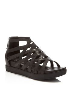 Eileen Fisher Airy Caged Open Toe Platform Wedge Sandals.  I'm getting this shoe.  I don't know where.  I don't know when.  But I am getting these shoes!  (2016 Spring)