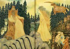 Сказочные образы в самобытных работах иллюстратора Веры Павловой - Ярмарка…