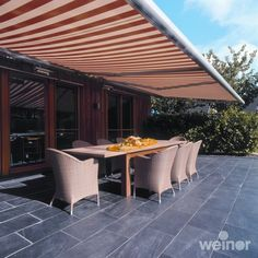 Lots of cool retractable awnings