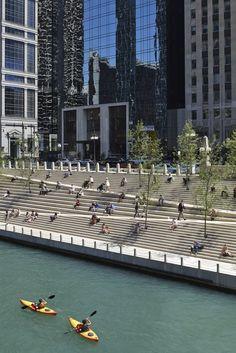 Costanera peatonal de Chicago