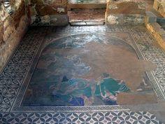 Cosmogonic mosaic at the House of the Mithraeum, Emerita Augusta (Mérida)